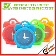 Promotion Gifts Multi-color Mini Lovely Silicone Alarm Clock