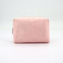 Women Fashion Water-resistant Custom Dupont Paper Tyvek Makeup Bag Pink Tyvek Cosmetic Bag
