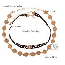 Готический Lace черная ретро воротник ожерелье Chocker