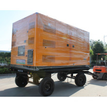 Diesel Silent Generator 120kw / 150kVA Anhänger Mobil Diesel Generator