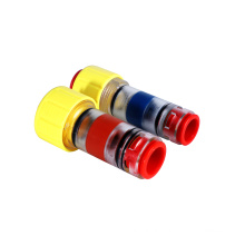 Best selling high quality multi size customized Hdpe tube microduct straight water union pneumatic gas block connector
