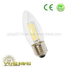 С35 3,5 Вт E27 тусклый Ясный свет работы светодиодные лампы накаливания