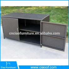 Modern rattan furniture hotel kitchen cabinets