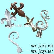 Shenzhen oem ferro fundido cerca decorações cerca de metal