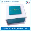 Caja de embalaje hecha a mano de SenCai perles con inserción de espuma blanca