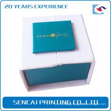 SenCai perles hand made packing box with white foam insert