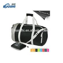 foldable travel duffel bag customized