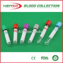 Tubos de teste de sangue descartáveis médicos HENSO