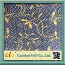 Flower Jacquard Sofa Upholstery Fabric
