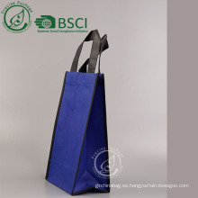 bolsa de documentos no tejidos reutilizable personalizada con cremallera