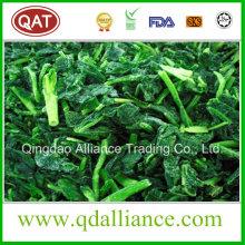IQF gefrorener gehackter Spinat mit koscherem Zertifikat