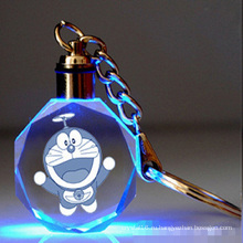 Светодиодный лазерный стеклянный подарок хрусталь Брелок для подарков сувенира