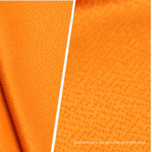 Wool Peach Polyester 4 Way Spandex Knitted Fabric