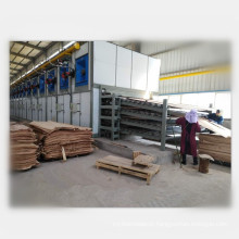 High capacity veneer dryer machine plywood making machine roller type core veneer dryer for sale