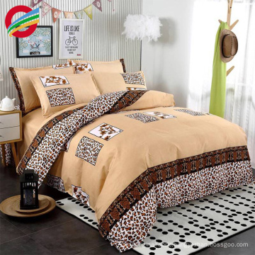 cheap price 100% cotton printed cover bedding sheet set for home