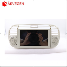 Android 7 Inch 2.5D Screen Multimedia Automotive Car DVD Player For Fiat 500 2014