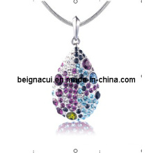 Sw Elements Crystal Colorful Necklaces Jewelry