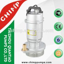 QDX1.5-32-0.75 bombas sumergibles de aluminio del alambre de cobre 0.75kw con el interruptor de flotador