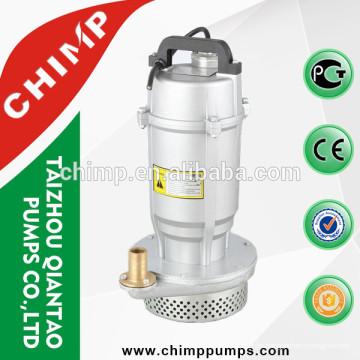 QDX1.5-32-0.75 0,75 kW Kupferdraht Aluminium Tauchpumpen mit Schwimmerschalter