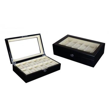 Black Watch Box Storage 12 horloges