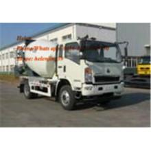 4x2 8m3 Small Self Loading Mixer Truck