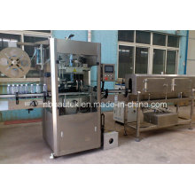 Mineral Water Bottle Automatic PVC Sleeve Insert & Labeling Machine