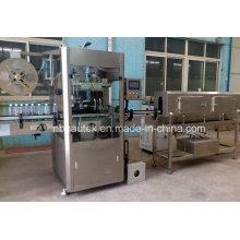 Garrafa de água mineral Inserção automática da luva do PVC & máquina de etiquetagem