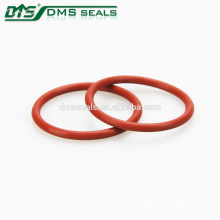 high temperature waterproof o seal ring clear silicone rubber o-ring