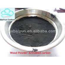 Farmácia Grade em pó de madeira Carbono ativo