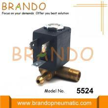 Válvula magnética de ferro a vapor CEME tipo 5524 1/8 ''