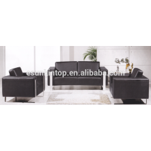 Pure color sofa sets for office used , Office sofa furniture design and sell (KS3109)