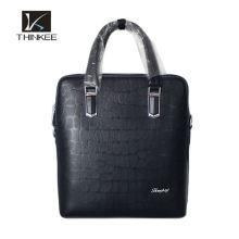 Drop Shipping men's bag male leather shoulder handbag khaki