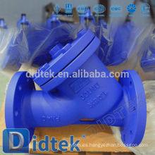 Didtek Garantía de Comercio Acero fundido DIN GS-C25 Y-Strainer