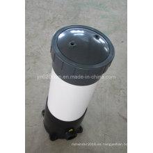 Cubierta de filtro de plástico para filtro de cartucho para tratamiento de agua