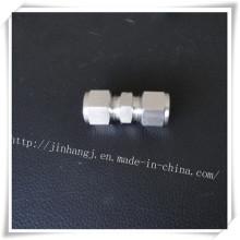 Равнополочное двойное кольцо из нержавеющей стали