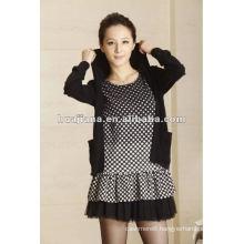 fashion ladies cashmere knitwear dresses