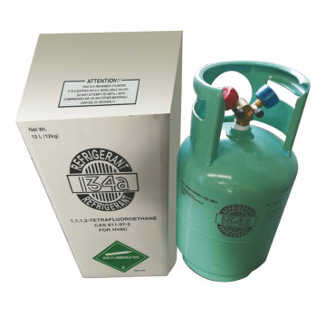 R-134a CE Cilindro Refrigerante Gas