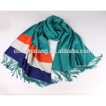 custom design real material business viscose shawl scarf hijab plain viscose