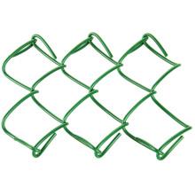 panel de puerta de valla de eslabones de cadena de aluminio y cobre 4x10