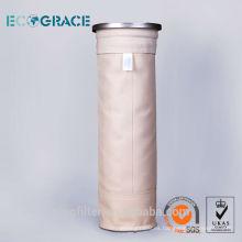 Bolso de filtro de alta calidad PPS para colcctor de polvo de planta de energía
