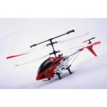 3.5CH RC helicóptero con giroscopio (rojo)