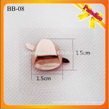 BB08 hebilla hecha a mano del zapato del oro del metal con la decoración desprendible del metal del bolso de los clips