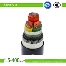 Price High Voltage XLPE Insulation PVC Sheanth Electric Power Cable