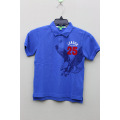BOY'S 100% Cotton Knitted Polo with Print