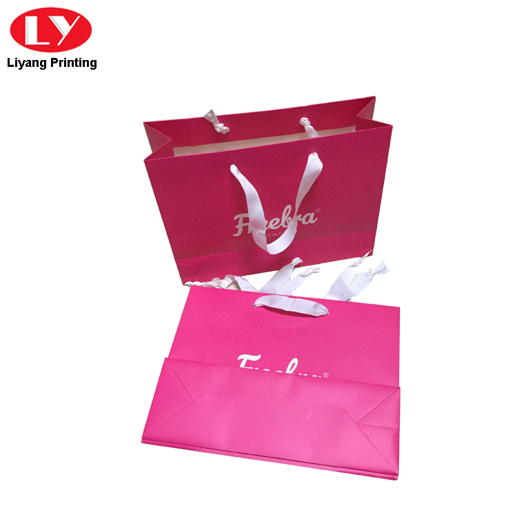 Pink Shopping Bag 2