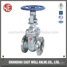 Manual gear type gate valve