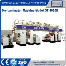 Máquina laminadora de base de disolvente de alta velocidad