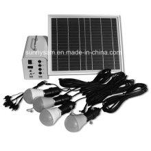 Énergie intégrée Mini système d'alimentation solaire portable 10W à usage domestique