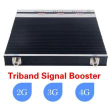 27dBm Cell Phone Signal GSM900+Dcs1800+WCDMA2100 Tri Band GSM Repeater Booster