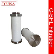 Élément de filtre à air en acier inoxydable à haute efficacité